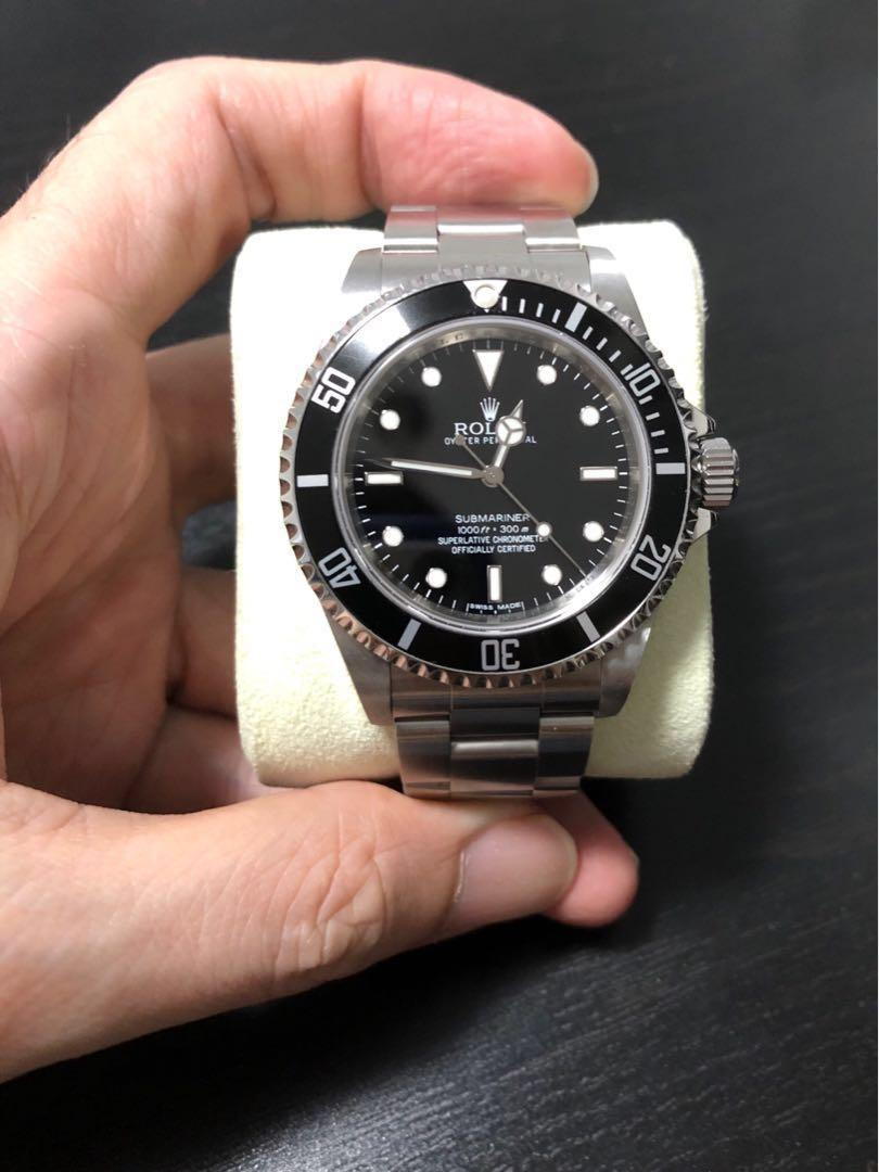 Rolex Submariner 4 liner 14060m 'AN' serial Full set