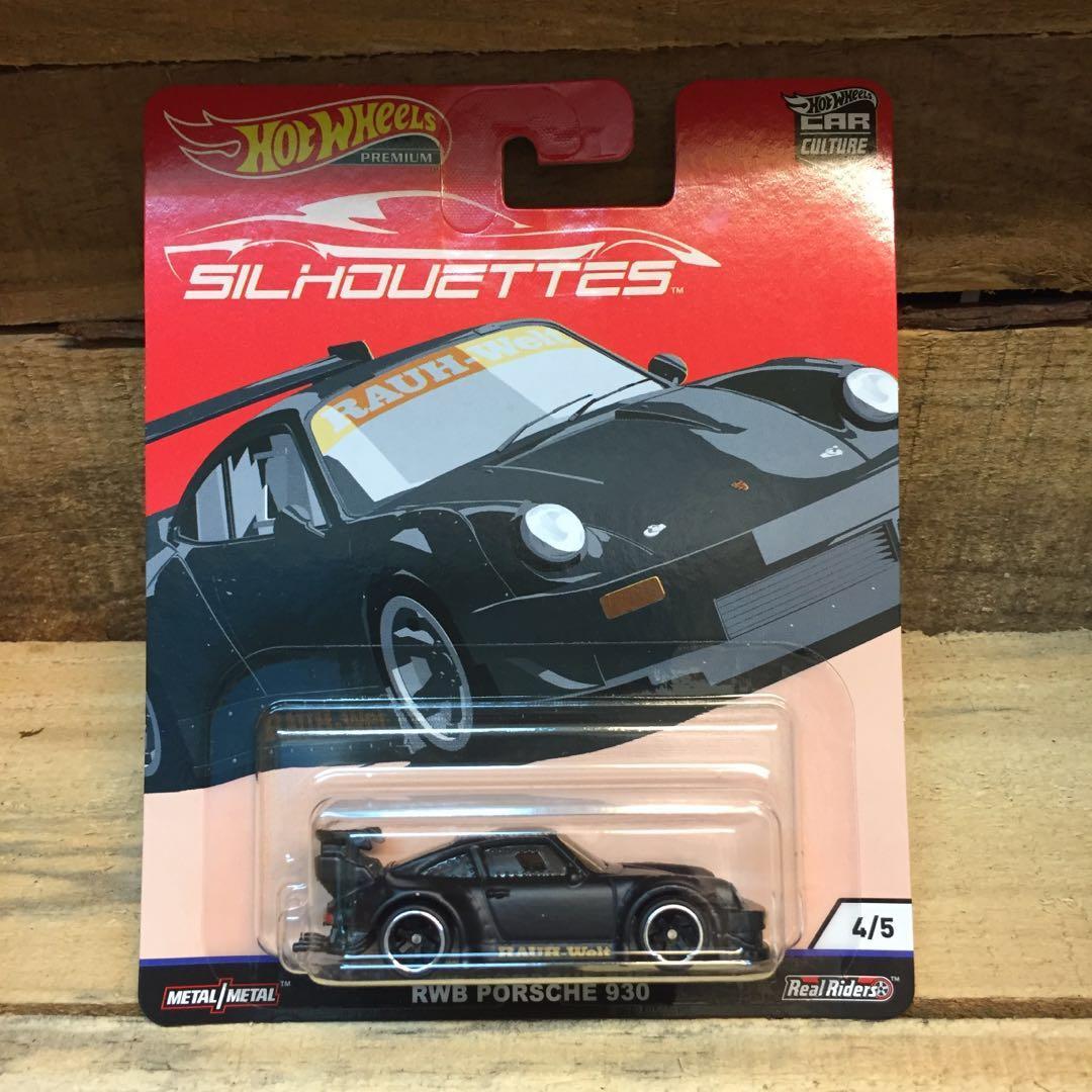 RWB Porsche Hotwheels Silhouettes Series