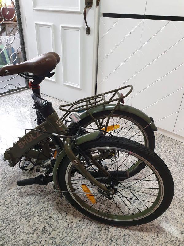 Schulz Goa 3 foldable bike