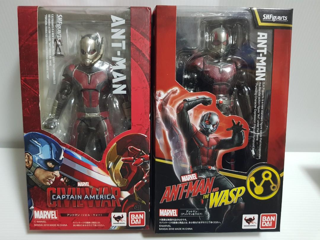 SHF Ant-Man (Civil War & Antman and the Wasp)