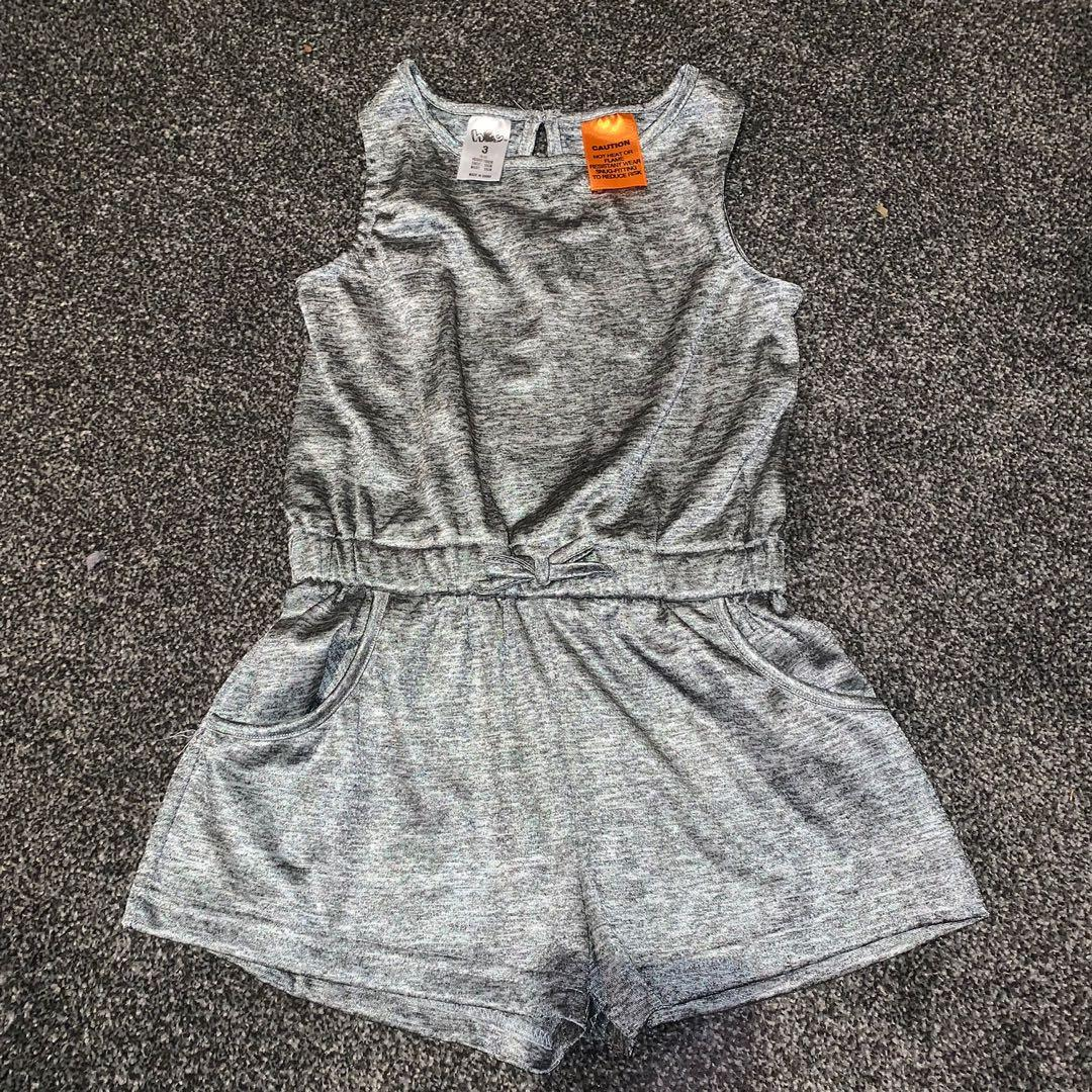 Size 3 silver playsuit