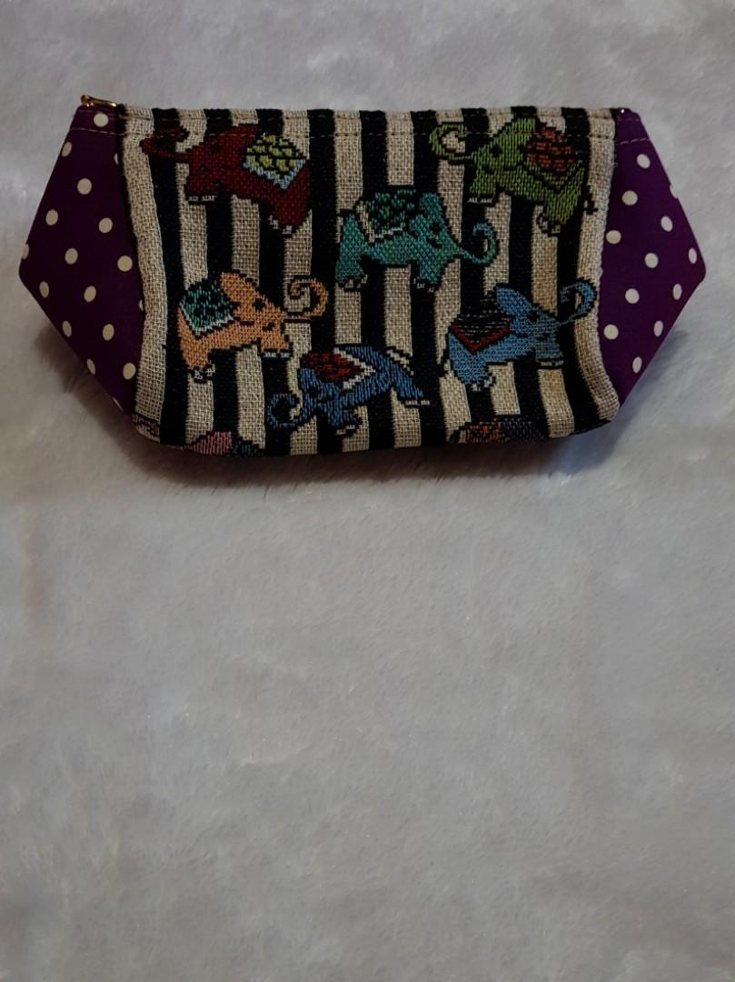 #bapau - Sling bag Elephant Polkadot Purple