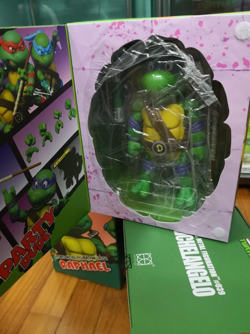TMNT Teenage Mutant Ninja Turtles Hybrid Metal Herocross Hero Cross