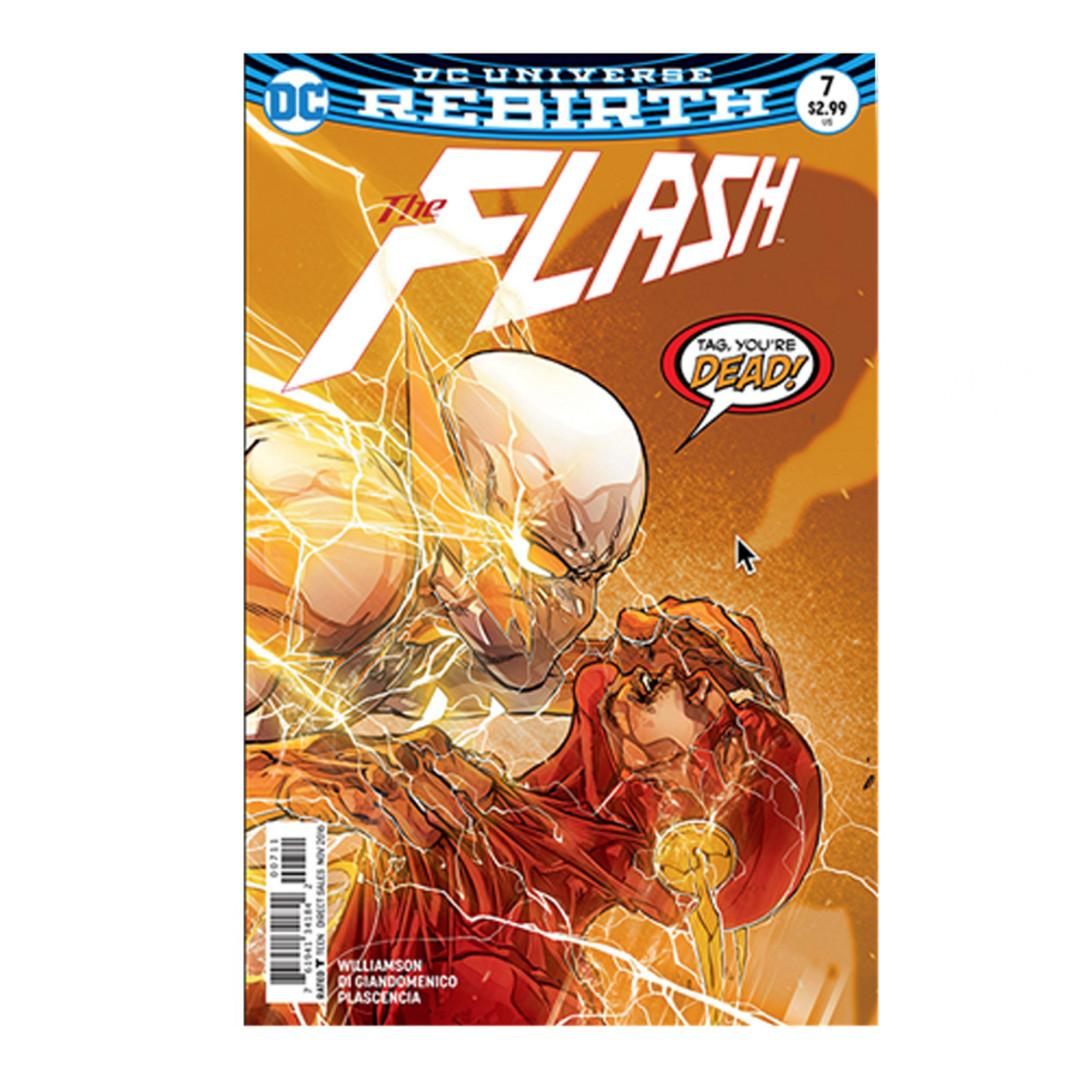 The Flash #7 Appearance of Godspeed