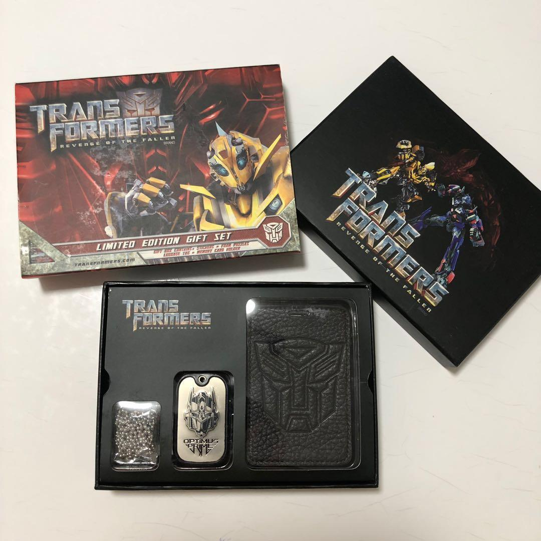 Transformers limited Edition Gift Set