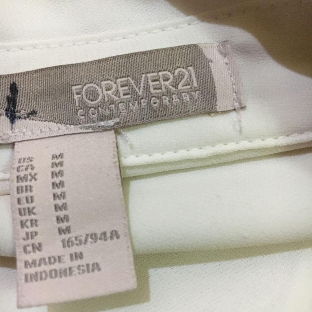 Two-Tonned Long Sleeve Forever 21