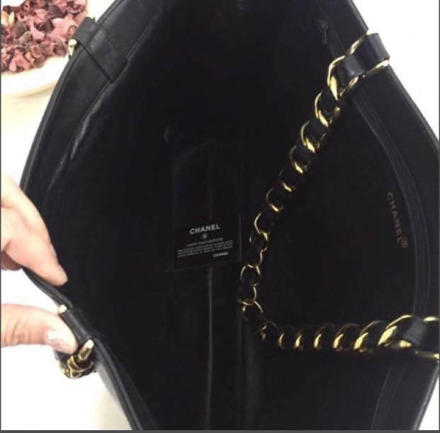 Vintage Chanel XL Jumbo Tote