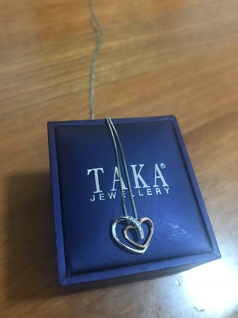 White Gold Necklace with pendant