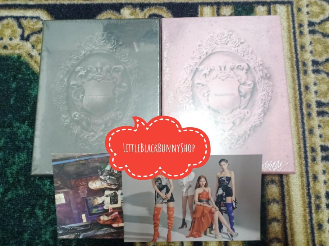 [YGSELECT READY STOCK] BLACKPINK - Kill This Love (2nd Mini Album)