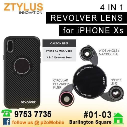 Ztylus Magnetic 4 in 1 Revolver Lens Kit (RV-2) iPhone XR