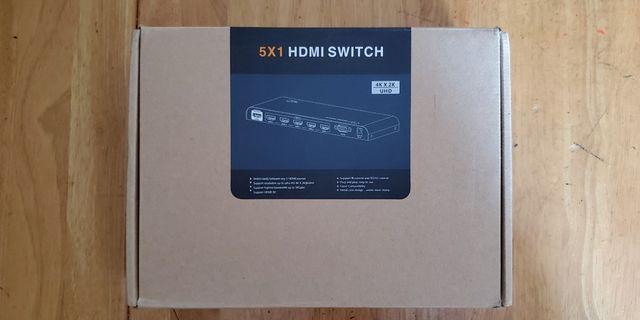 LKV501 HDMI 2.0a 5入1出 Switch