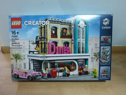 Lego 10260 Downtown Diner Creator Expert - brand new MISB