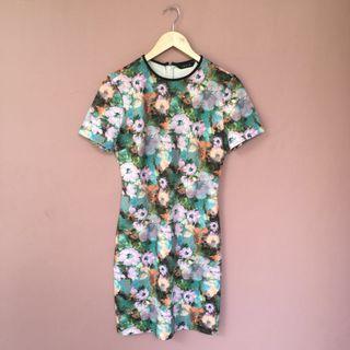 #BAPAU FLOWER DRESS