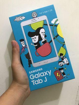 全新未開封 Samsung Galaxy Tab J