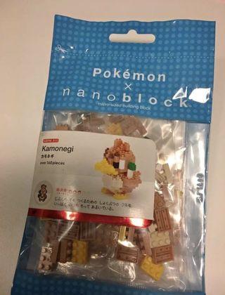 Pokémon x nanoblock 火蔥鴨