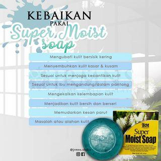 Supermoist soap (Instock)Jrm