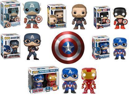 Pre-order Captain America Funko pops