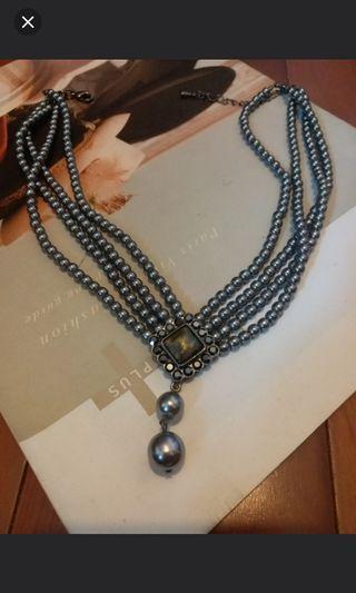 珠鏈chocker 中古維多利亞款式