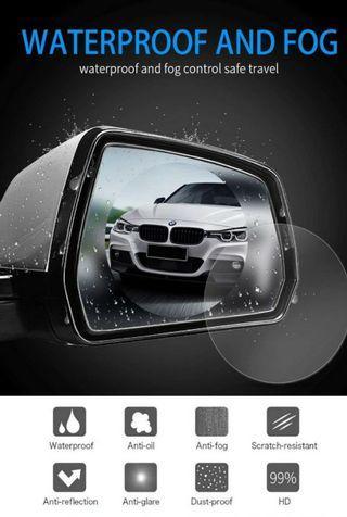 Car Anti Water Mist Protective Film Rearview Mirror Membrane