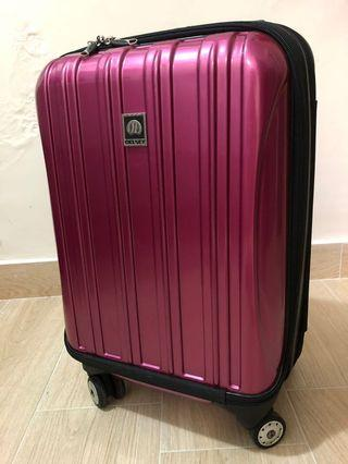 "21"" Delsey Luggage hand carry  Suitcase 21吋行李箱 登機箱旅行喼"