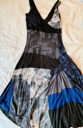 Desigual printed A line dress