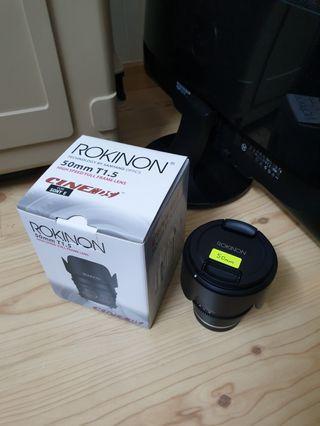 Samyang/Rokinon 50mm T1.5 Cine DS Lens for Sony Full Frame
