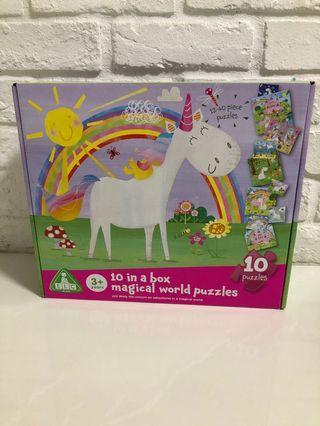 ELC 10inabox magical world puzzles