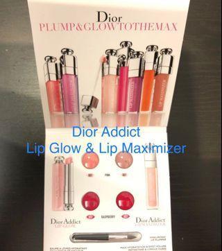 Dior Addict Lip Glow & Lip Maximizer 試用裝