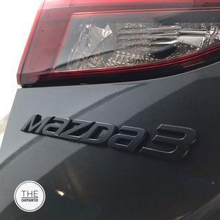 Mazda 3 Logo Emblem Plastidip Spray Service Plasti Dip