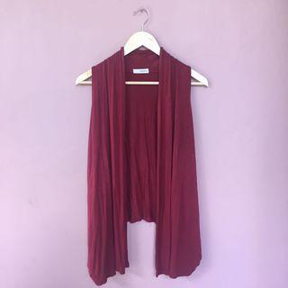 #BAPAU Maroon Outwear