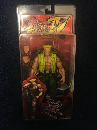 """全新Street FighterIV Figure 少年軍佬6""""figure"""