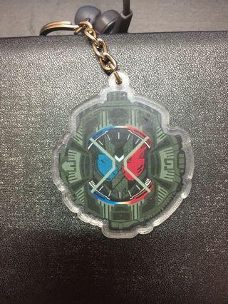 Kamen Rider Build Black Hazard Keychain