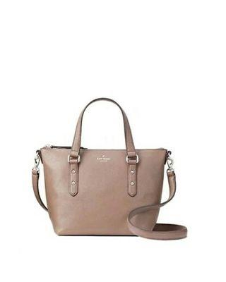 Kate Spade NY Larchmont Small Penny Leather Satchel