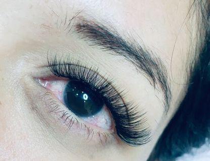 Eyelash Extensions , Eyebrows