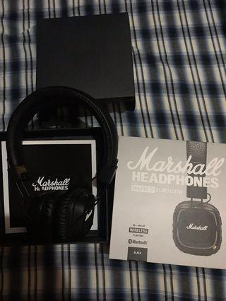 Marshall 2 藍牙耳機