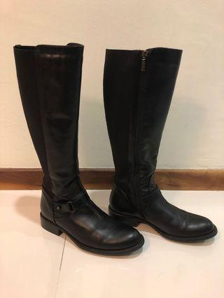 Aquatalia Leather Knee-high Boots