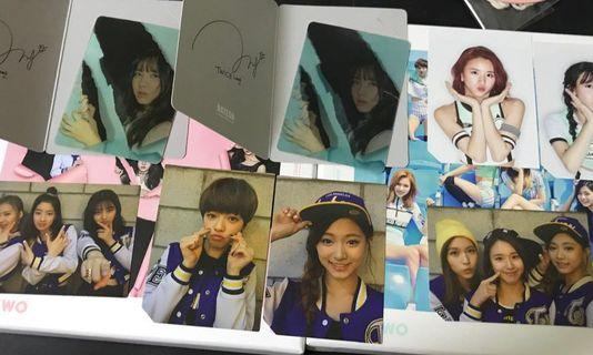 [ WTT/ WTS ]Twice PAGE 2 cheer up photocards pcs clearance sale