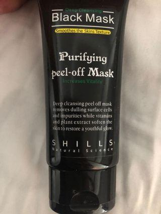 Deep Cleaning Peel-Off Purifying Black Mask