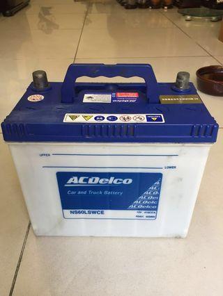 中古 二手 ACDelco 汽車電池 電瓶 NS60LSWCE 鈣鈣合金低保養電瓶