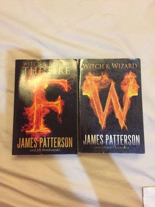 Witch and Wizard series by James Patterson