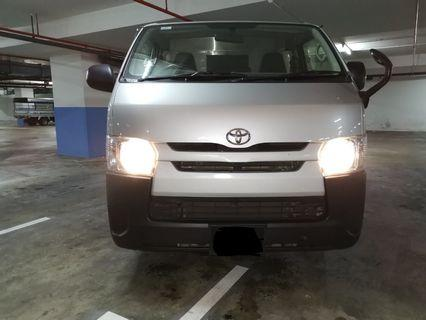 TOYOTA HIACE 3.0 M FOR LONG TERM RENTAL $80. CALL MR LEE @ 9299 4404 NOW
