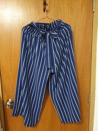 🚚 Blue Stripes Pants