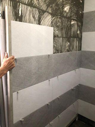 Resale toilet renovation