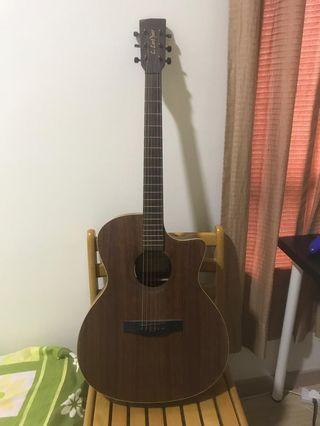 L.Luthier SemiAcoustic Guitar (Model: GA22VCEQ)