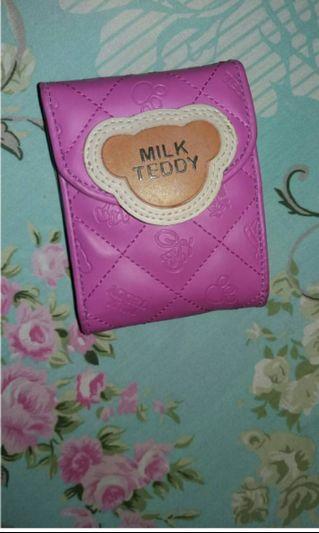 #BAPAU Dompet Milk Teddy