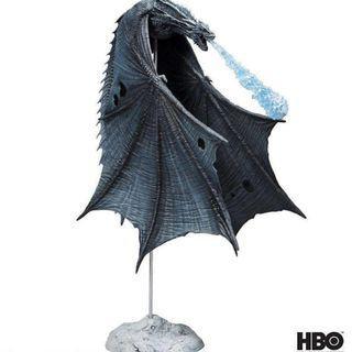 現貨 美版 McFarlane 冰與火之歌 權力遊戲 韋賽里昂 Viserion 冰龍 可動