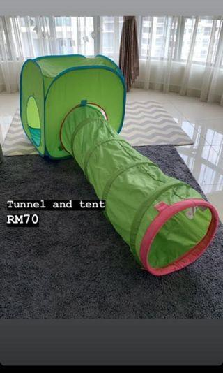 IKEA kids tunnel and tent