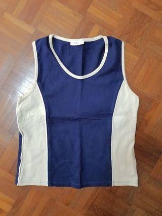 BN sleevless sports top