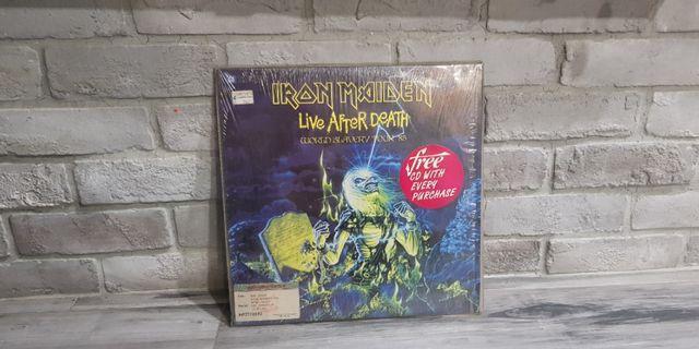 iron maiden live after death ld laserdisc lazerdisc laser lazer disk disc