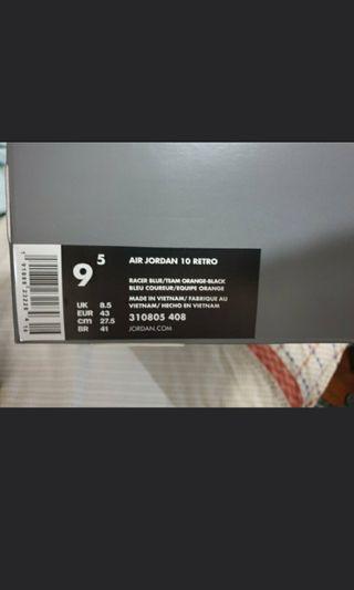 Air Jordan 10 Tinker H